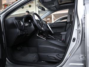 2017款1.8L E-CVT精英版 前排空间