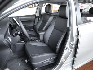 2017款1.8L E-CVT精英版 前排座椅