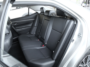 2017款1.8L E-CVT精英版 后排座椅