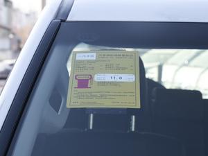 2018款3.5L 自动TX-L后挂备胎 工信部油耗标示