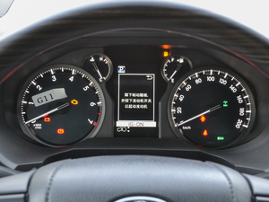 2018款3.5L 自动VX-NAVI 后挂备胎 仪表
