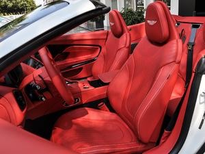 2019款V8 Volante 前排座椅