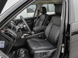 2018款3.0L V6 HSE 前排座椅