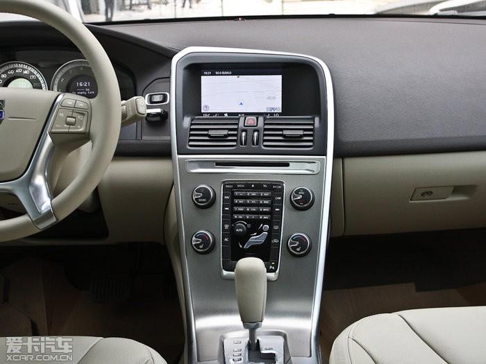 2012款沃尔沃XC60图片 中控区图片 891419