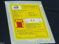 其它沃尔沃S60工信部油耗标示