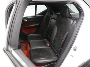 2019款T5 四驱运动 日暮水晶白限定版 后排座椅
