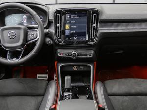 2019款T5 四驱运动 日暮水晶白限定版 中控台