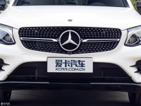 细节外观奔驰GLC 轿跑SUV中网