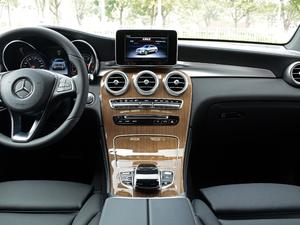 2018款GLC 260 4MATIC 轿跑SUV 中控台