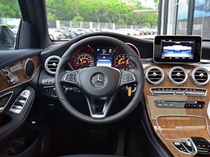2018款GLC 260 4MATIC 轿跑SUV 方向盘