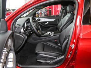 2018款GLC 200 4MATIC 轿跑SUV 前排空间
