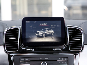 2018款GLE 400 4MATIC 中控台显示屏