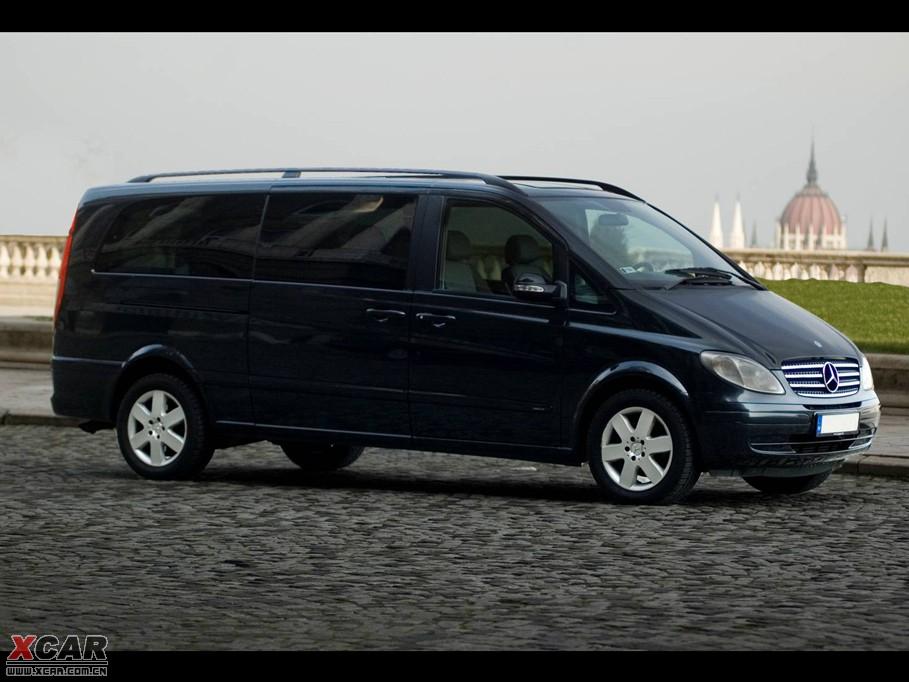 奔驰Viano整体外观图片 4S店经销商 爱卡汽车网高清图片