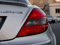 细节外观奔驰SLK级AMG尾灯