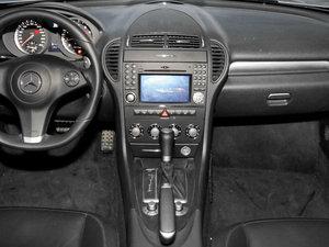 2010款AMG SLK 55 中控台