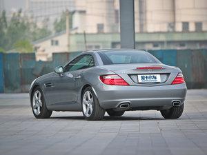 2011款SLK 200 时尚型 后侧45度