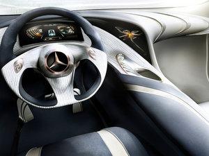 2013款氢动力 概念车 中控区
