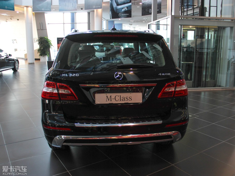 2014款ML 320 4MATIC 纯后