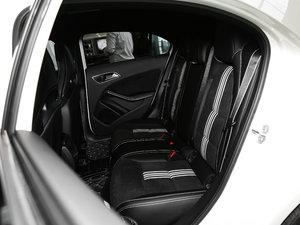 2017款A 200 极地限量版 后排座椅