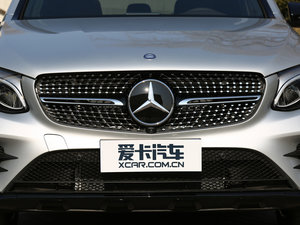 2017款GLC 260 4MATIC 轿跑SUV 中网