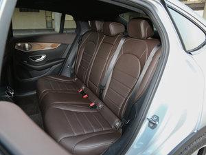 2017款GLC 260 4MATIC 轿跑SUV 后排座椅