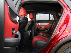 2017款GLC 300 4MATIC 轿跑SUV 后排空间