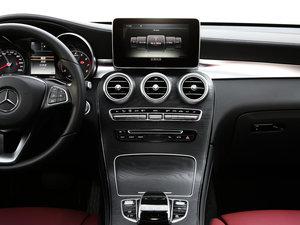 2017款GLC 300 4MATIC 轿跑SUV 中控台