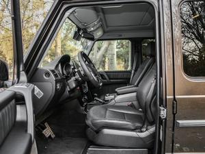 2017款G 500 前排空间