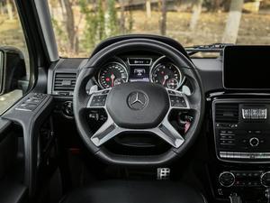 2017款G 500 方向盘