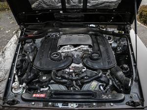 2017款G 500 发动机