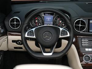 2017款SL 400 方向盘