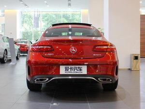 2017款E200 Coupe 4MATIC 纯后