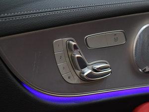 2017款E200 Coupe 4MATIC 座椅调节