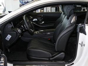 2017款S 400 Coupe 4MATIC 前排空间