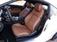 空间座椅奔驰C级Coupe前排座椅