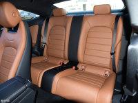 空间座椅奔驰C级Coupe后排座椅