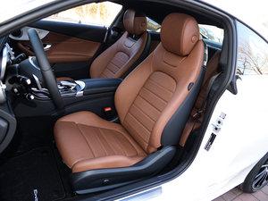 2017款C 200 4MATIC 轿跑车 前排座椅