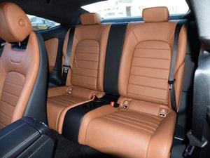 2017款C 200 4MATIC 轿跑车 后排座椅