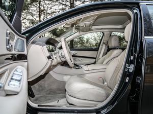 2018款S 450 L 前排空间