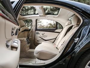 2018款S 450 L 后排空间