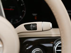 2018款S 450 L 变速挡杆