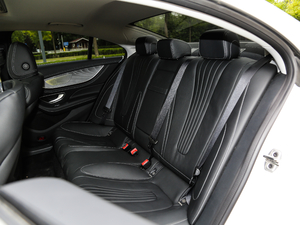 2018款CLS 350 4MATIC 后排座椅