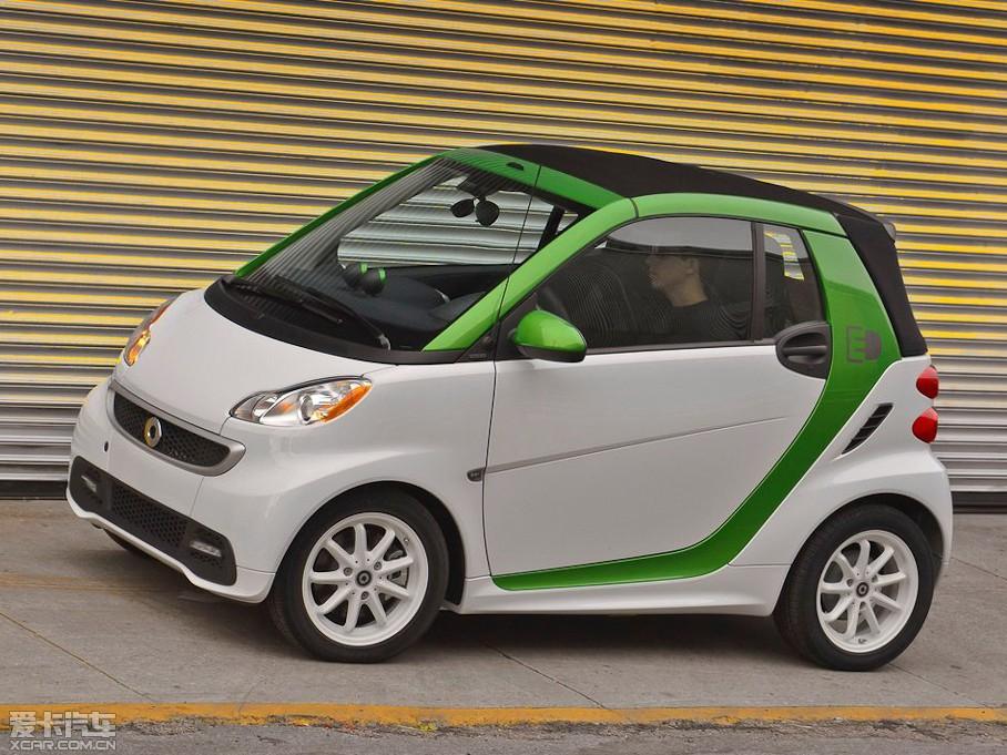 2014款smart fortwo 电动车图片高清图片