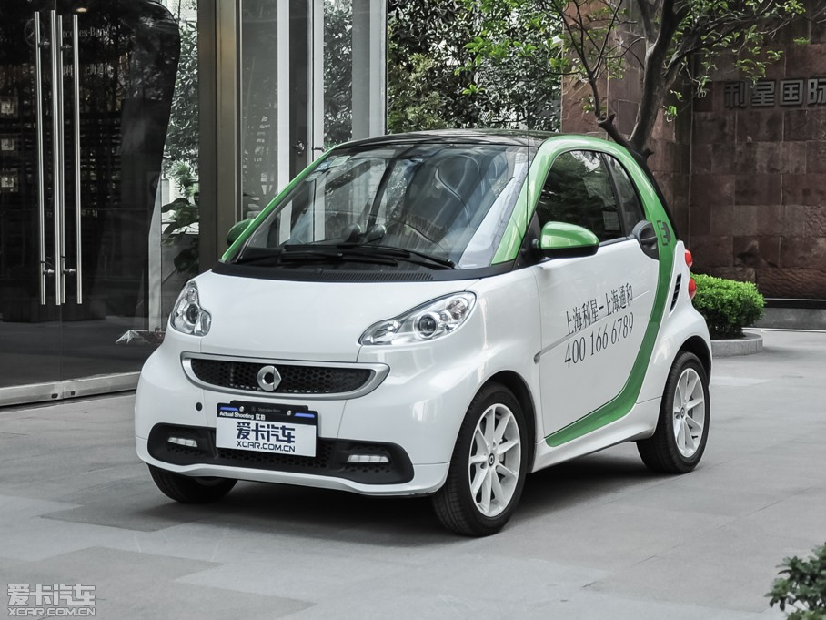 2014款smart fortwo 电动车 electric drive