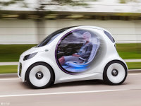 整体外观smart fortwo 电动车整体外观
