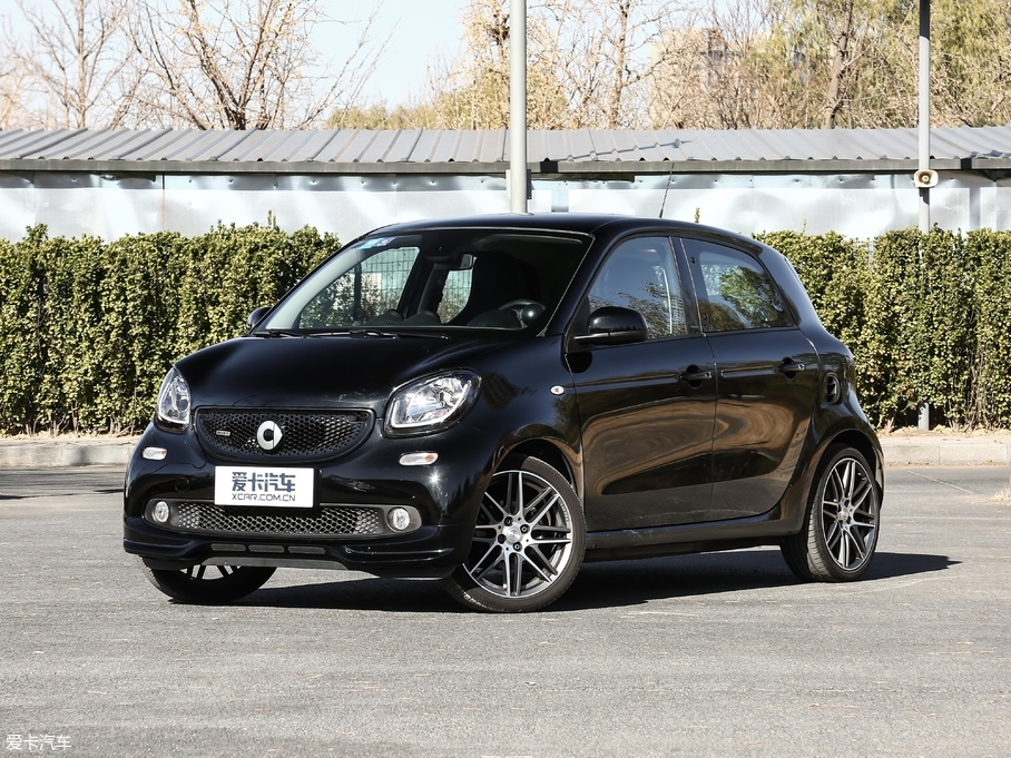 2017款smart forfour BRABUS Xclusive