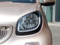 细节外观smart fortwo头灯