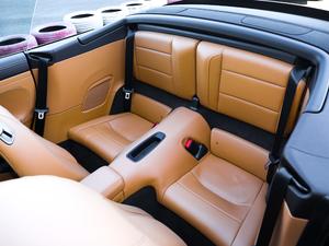 2019款Carrera S Cabriolet 后排座椅