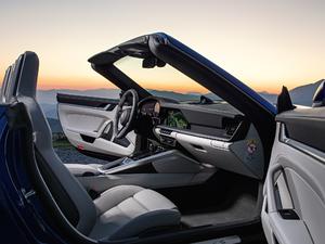 2019款Carrera 4S Cabriolet 中控区