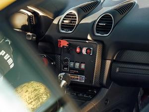 2019款Cayman GT4 Clubsport 中控区